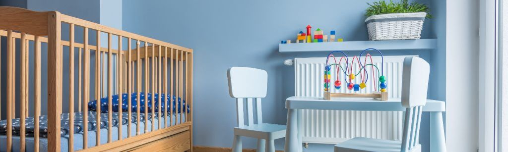 HYDRONIC HEATING babys room
